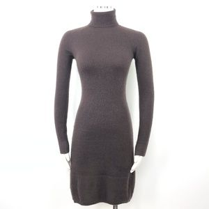 Barneys Brown Cashmere Sweaterdress Dress Bodycon